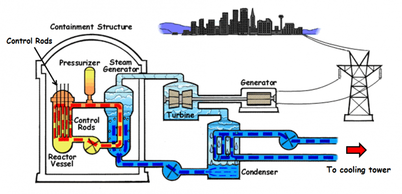 Nuclear Power plant Main Parts