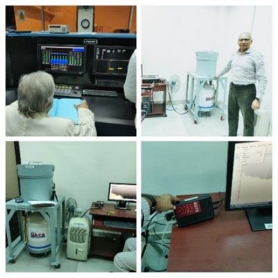 Detection of radiation and nuclear power production
